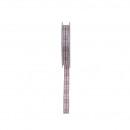 Ruban tissé Hana largeur 15mm, longueur 15m, rose